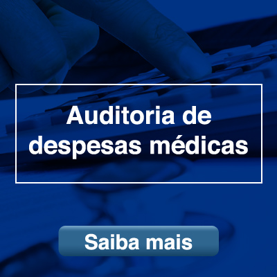 Auditoria de despesas médica